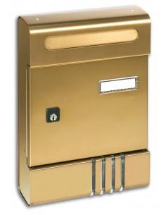 SE Cassetta postale bronzo bianco