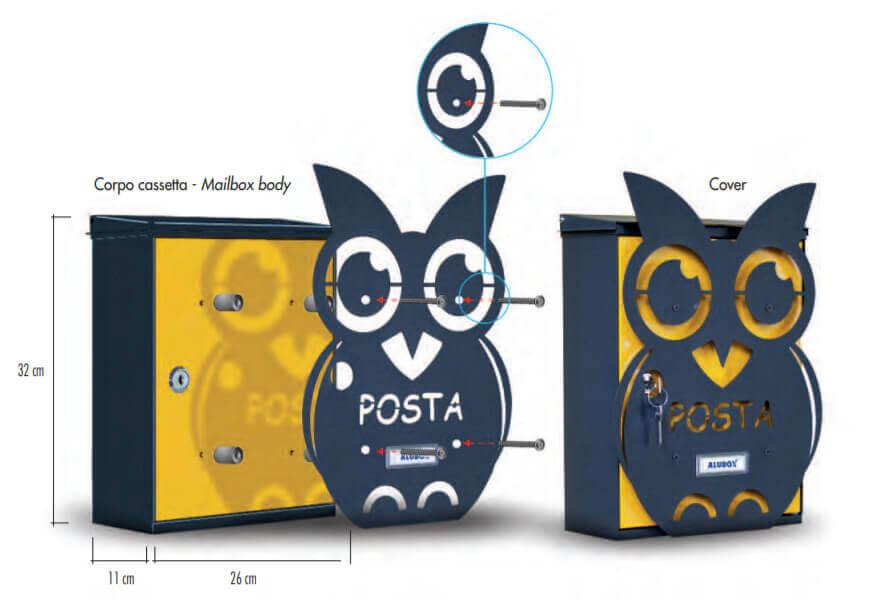Cassetta Postale MIA